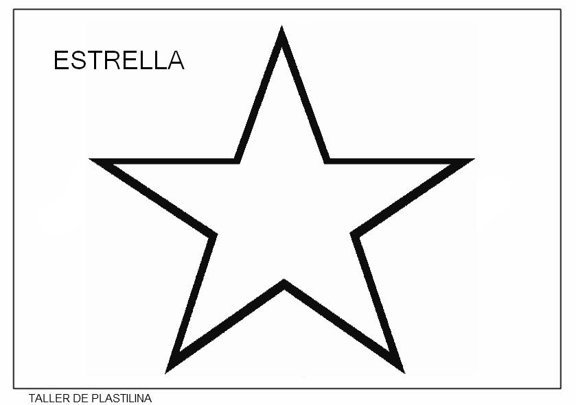 letra estrella blanca: