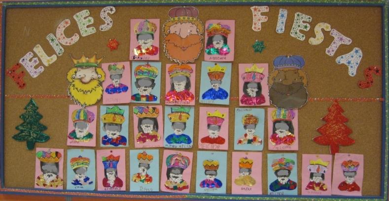 Navidad rinc n de infantil - Murales decorativos de navidad ...